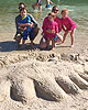 Sandcastle building contest